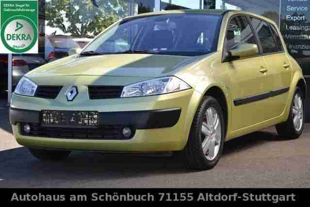 Renault MEGANE 1.6 i EXPRESSION LUXE KLIMAAUTOM ALU 1A
