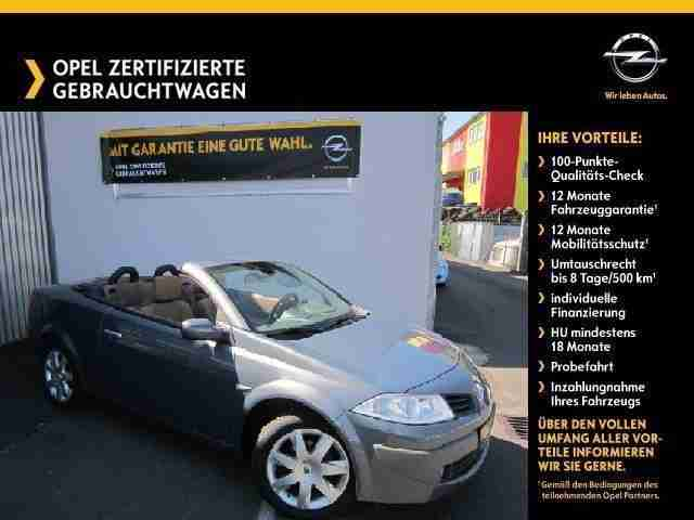Renault Megane 1.6 112 PS Coupe Cabriolet