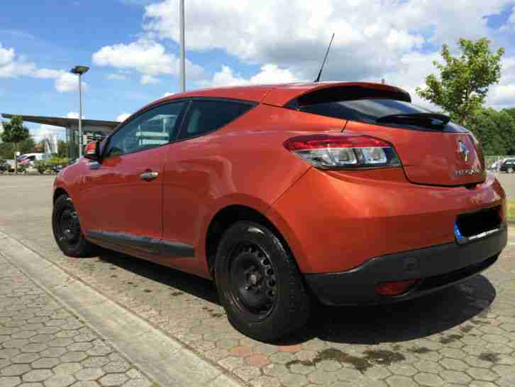 Megane Coupe 3 1, 6l 16V 93000km Cayenne Orange