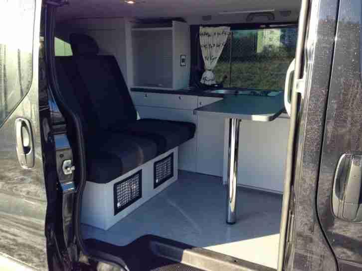 renault trafic 2 0 dci l2h1 camper wohnmobil wohnwagen wohnmobile. Black Bedroom Furniture Sets. Home Design Ideas