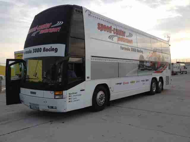 rennbus renntransporter reisebus scania wohnwagen wohnmobile. Black Bedroom Furniture Sets. Home Design Ideas