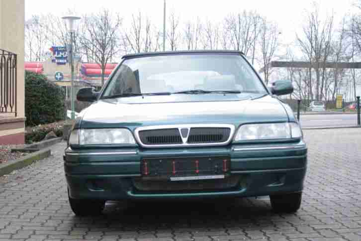 Rover 216i Cabrio British Racing Green Metallic