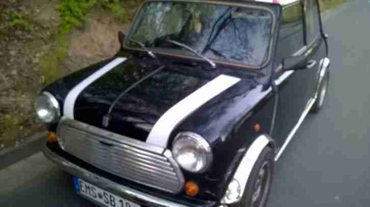 Rover Mini MK II mit UNION JACK - Mr. Bean Auto