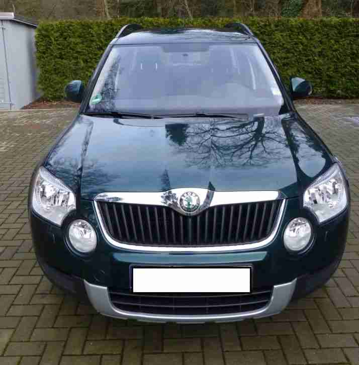 skoda yeti 1 5 l tsi active 2010 top 1 hand tolle. Black Bedroom Furniture Sets. Home Design Ideas