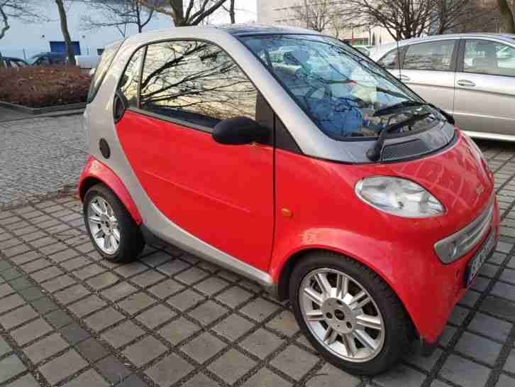 SMART FORTWO TURBO MOTOR NEU