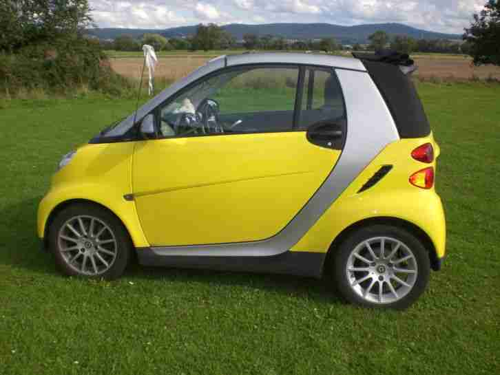 smart gebrauchtwagen alle smart gelb g nstig kaufen. Black Bedroom Furniture Sets. Home Design Ideas