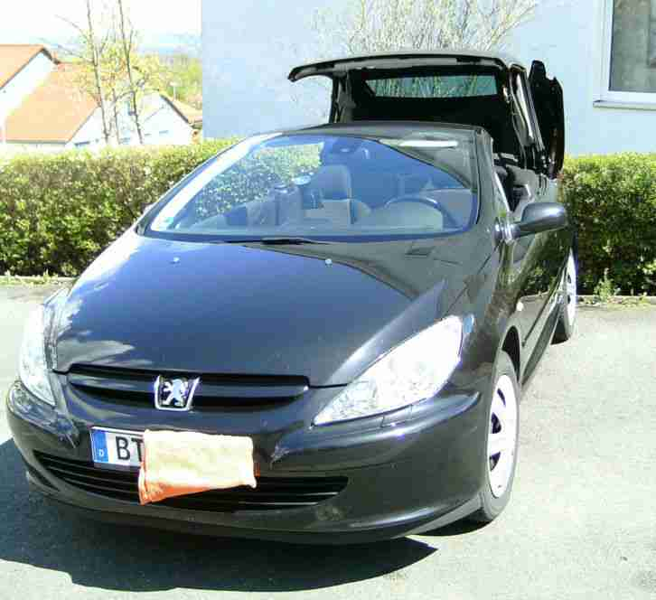 sommer sonne cabrio peugeot 307 cc cabrio tolle angebote. Black Bedroom Furniture Sets. Home Design Ideas