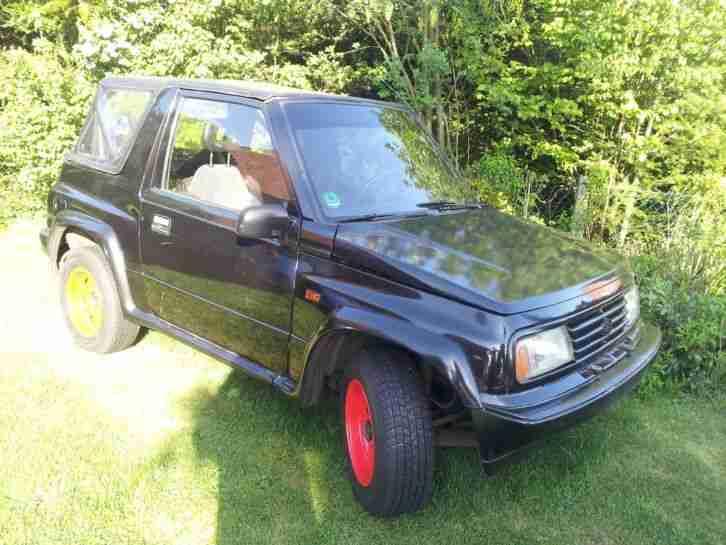 suzuki vitara 1991 3 door cabrio ohne t v als neue. Black Bedroom Furniture Sets. Home Design Ideas