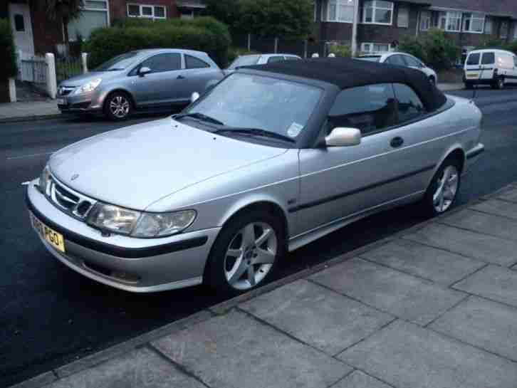 Saab 9-3 2.0t SE convertible spares or repairs