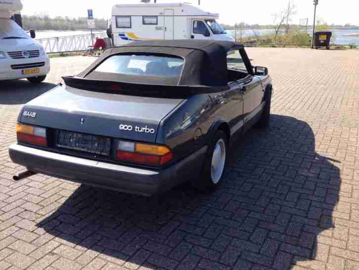 Saab 900 Cabrio Aero Turbo 165Ps