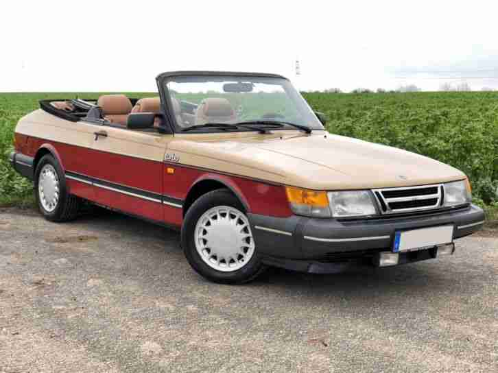 saab 900 cabrio turbo texas edition tolle angebote in saab. Black Bedroom Furniture Sets. Home Design Ideas
