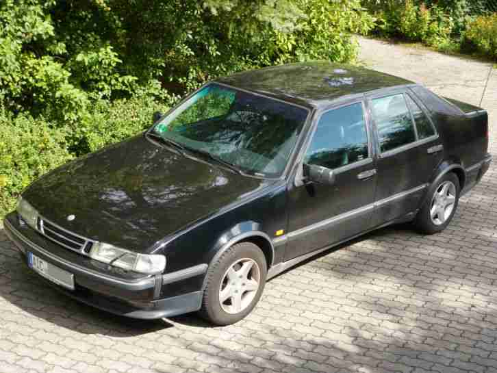 saab 9000 cs ez 10 95 km schwarz leder tolle angebote in saab. Black Bedroom Furniture Sets. Home Design Ideas