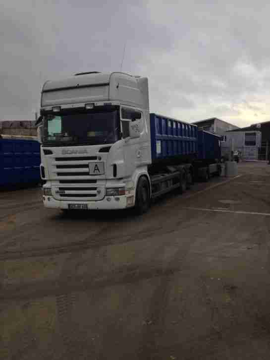 Scania LKW/Abroller