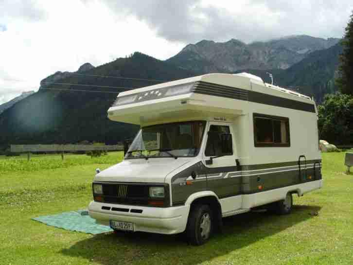 sch nes wohnmobil hobby 550 ak fiat ducato wohnwagen. Black Bedroom Furniture Sets. Home Design Ideas
