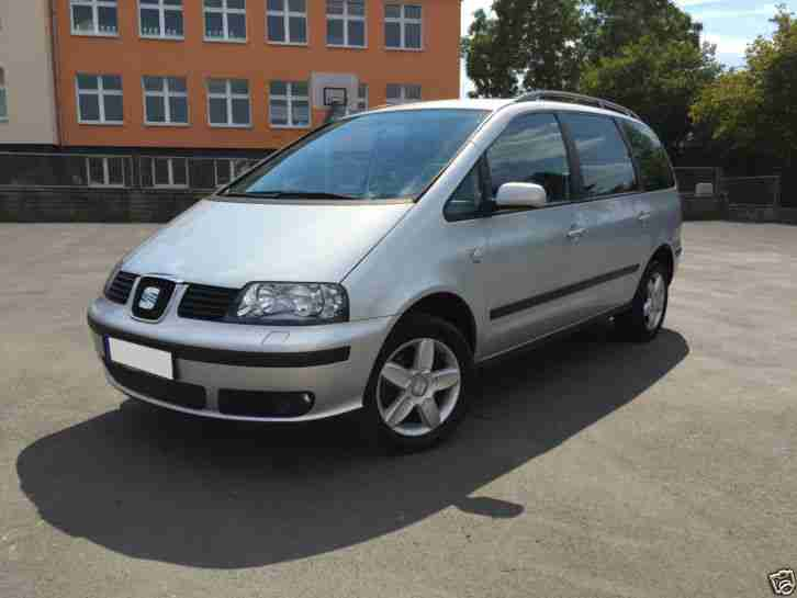 seat alhambra 2 0tdi 7sitzer scheckheft autos. Black Bedroom Furniture Sets. Home Design Ideas
