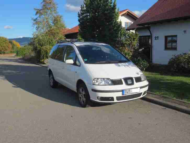 seat alhambra allrad modell 2004 mit ahk t v autos f r verkauf marke seat. Black Bedroom Furniture Sets. Home Design Ideas