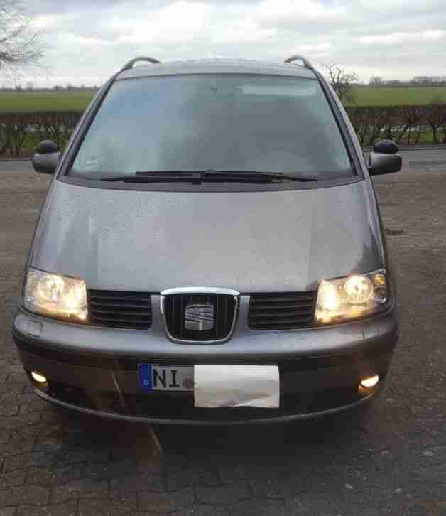 seat alhambra tdi 140ps bj 2007 t v gr ne eu autos f r. Black Bedroom Furniture Sets. Home Design Ideas
