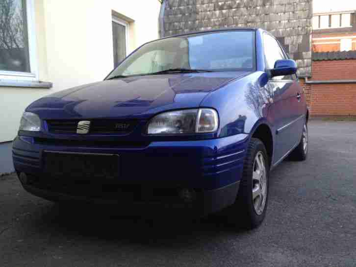 Arosa 1, 4 16V 74kw 100Ps Blaumetallic EZ 1999