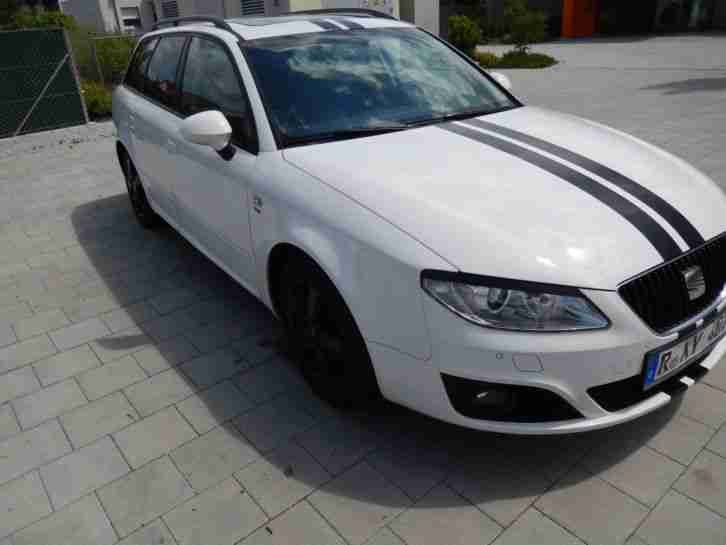 seat exeo 2 0 tdi cr sport vollastatung autos f r verkauf marke seat. Black Bedroom Furniture Sets. Home Design Ideas
