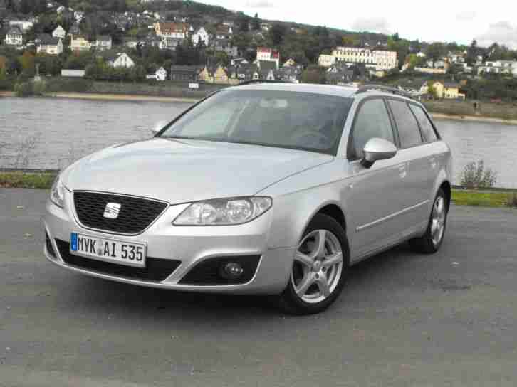 Seat Exeo ST CR Style 2,0 TDI 120 PS 03/2010 57000 km Euro 5