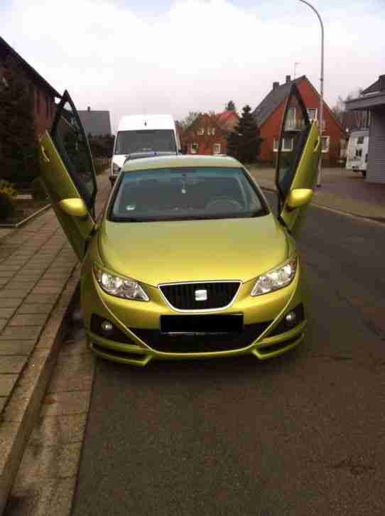 seat ibiza 1 6 16v sport mit fl gelt ren autos f r verkauf marke seat. Black Bedroom Furniture Sets. Home Design Ideas