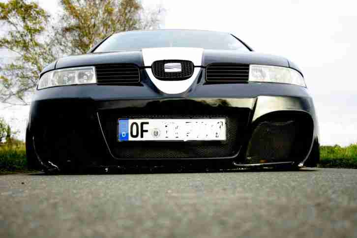 seat leon 1 8 airride tuning cupra style tolle angebote. Black Bedroom Furniture Sets. Home Design Ideas