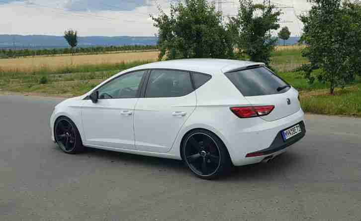 seat leon 5f 2 0 tdi fr 150ps mod 2016 eu6 led autos. Black Bedroom Furniture Sets. Home Design Ideas