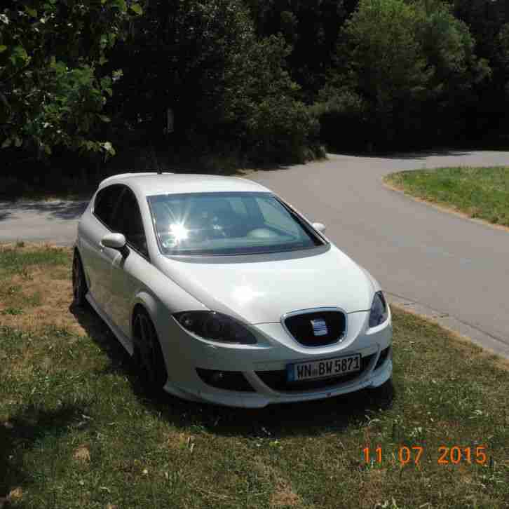 seat leon cupra r abt wei mit 199 kw 270 ps autos f r verkauf marke seat. Black Bedroom Furniture Sets. Home Design Ideas