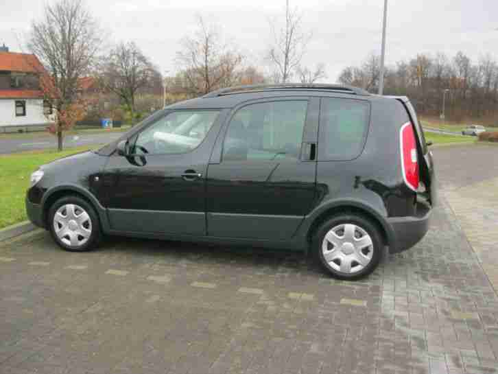 Skoda Roomster 1.2 TSI Scout 77 KW/105 PS 1. Hand Scheckheft