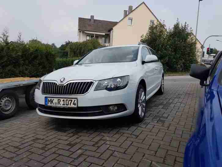 Skoda Superb 2.0 TDI Best of Wartung Neu
