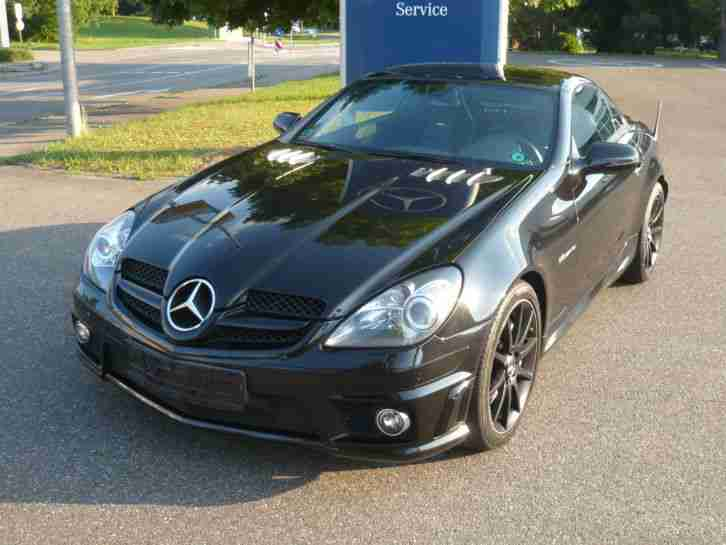 slk 55 amg performance package facelift aktuelle angebote mercedes benz fahrzeuge. Black Bedroom Furniture Sets. Home Design Ideas