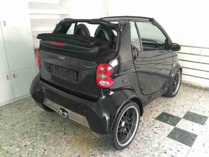 smart brabus 1st edition cabrio einer von 500 grosse. Black Bedroom Furniture Sets. Home Design Ideas