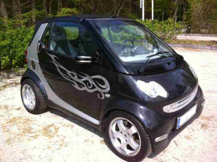 smart cabrio unikat neuer motor mit 2 j grosse menge. Black Bedroom Furniture Sets. Home Design Ideas