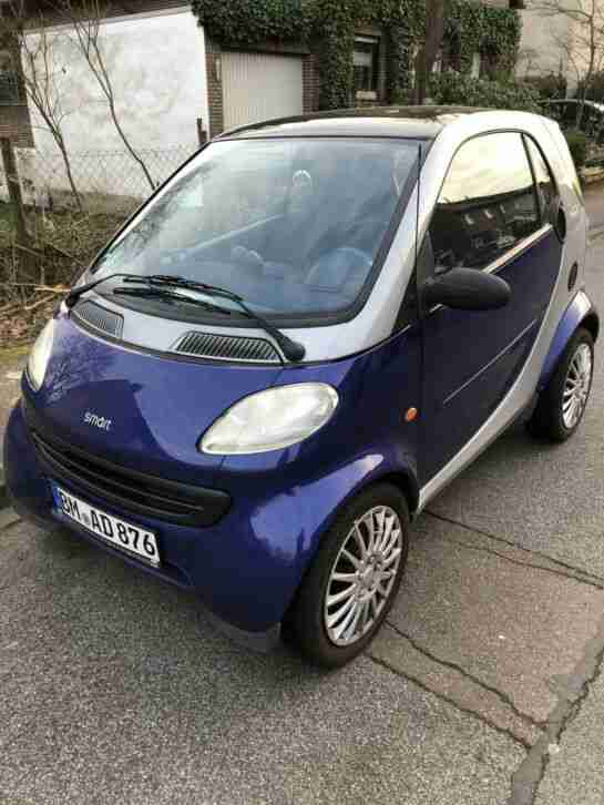 Smart City Coupe BJ 1999 450 0.6 Fortwo Kleinwagen TOP Panoramadach Klima
