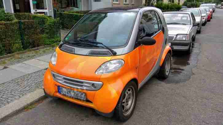 Smart City Coupe Passion Aqua Orange Grau mit Motorschaden