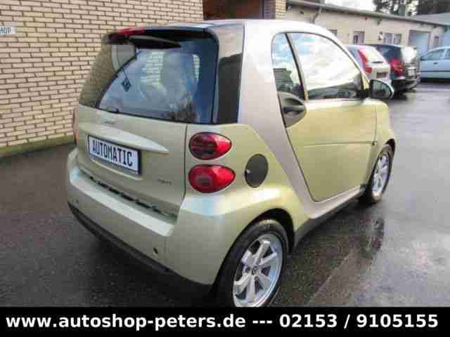 Smart FORTWO COUPE SOFTOUCH EDITION LIMITED THREE MHD
