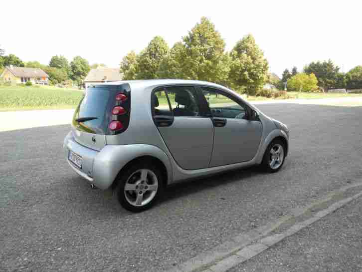 Smart ForFour passion PanoramaDach,Klima,Alu 15 zoll -