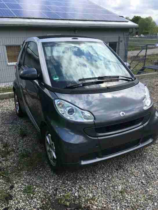 Smart ForTwo Cabrio 451 Grau Softtouch Vollausstattung