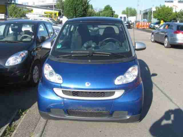 Smart ForTwo Coupe, Automatik, , Klima, 2 Ha!, , 53 Km!