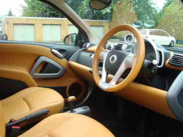 ForTwo Coupe Softouch Passion MHD KLIMA LEDER