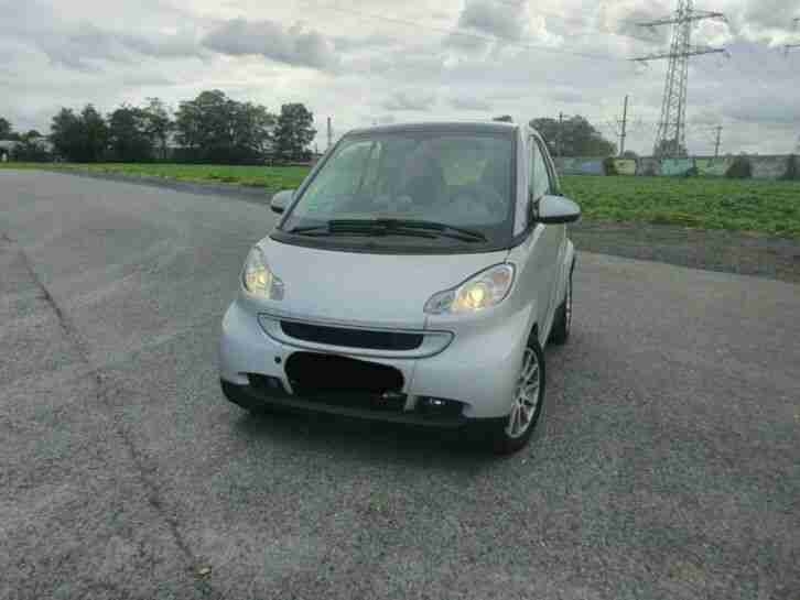 Smart ForTwo Passion 1. 0 Turbo 84 PS TÜV 07 21