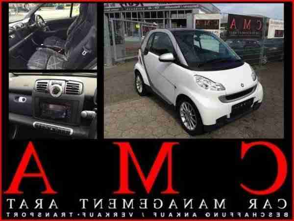 ForTwo Passion Panorama Klima Softouch