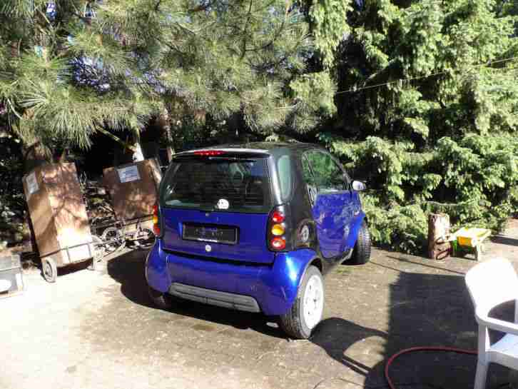 ForTwo Pure Ausstattung