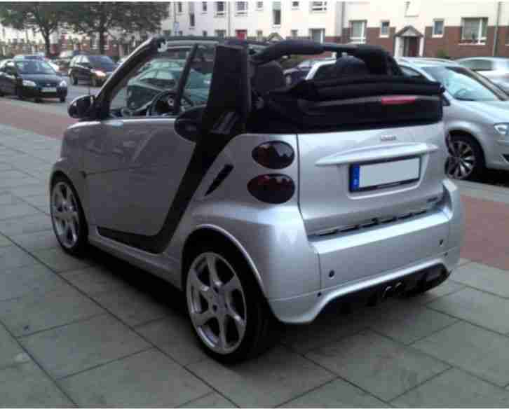 Smart Fortwo 451 Brabus Xclusive Cabrio mhd Navi Lorinser TOP 71PS