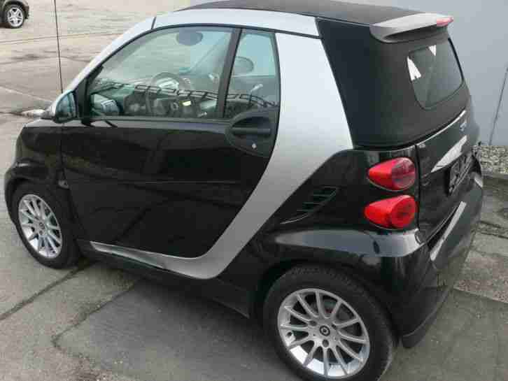 smart fortwo 451 cabrio automatik klima grosse menge. Black Bedroom Furniture Sets. Home Design Ideas