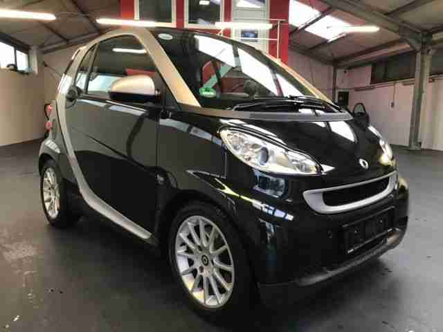 Fortwo Coupe 1.0 MHD Passion 1.Hand Scheckheft