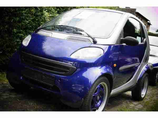 Fortwo MC01, Panoramadach, sparsam und