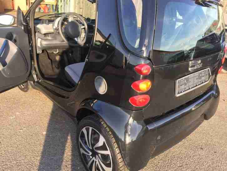 Smart Fortwo Pulse Facelift Black Edition Modell 2004