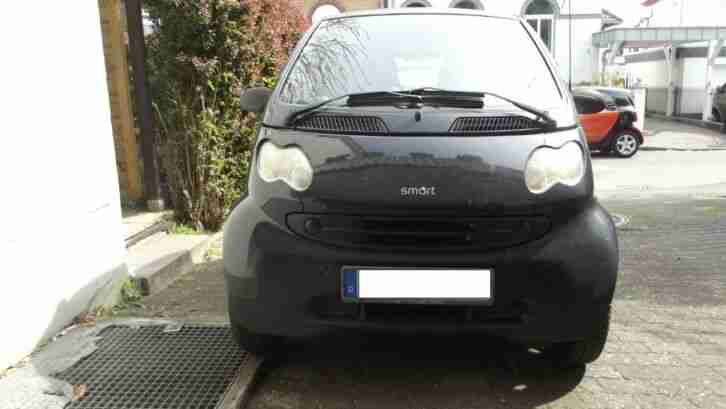 Smart Fortwo Pure Diesel City Coupe Bj 2003 Tüv 04.2020, schwarz, Softouch
