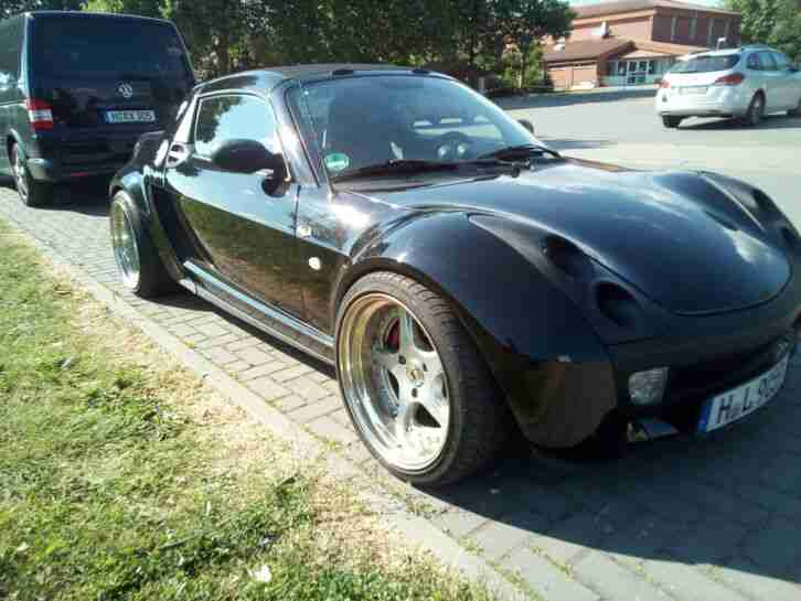 Smart Roadster Brabus Edition mit Schaltwippen